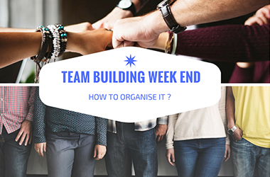 How to organise a team building weekend