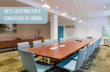 Best locations for a conference in London