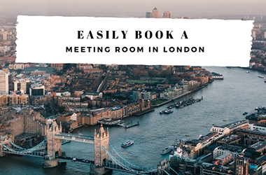Easily book a meeting room in London