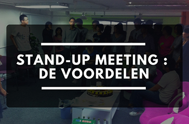 Stand-up meeting : de voordelen