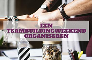 Een teambuildingweekend organisere