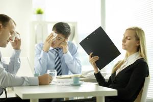 les réunions l'été au bureau