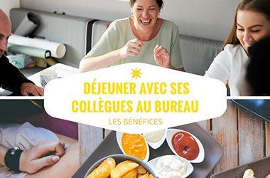 déjeuner avec ses collègues