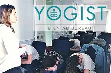 Le Yoga au bureau, un challenge réussi par Anne-Charlotte, fondatrice de Yogist