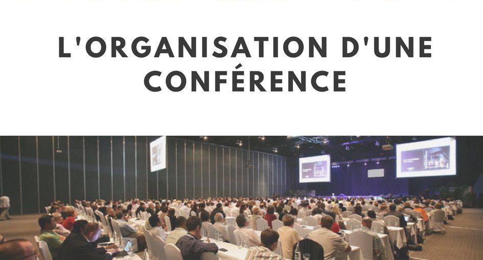 organisation d'une conférence