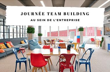 Journée team building au sein de l'entreprise
