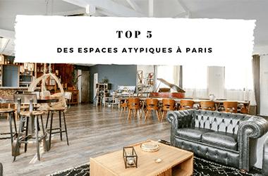 TOP 5 des espaces atypiques à Paris