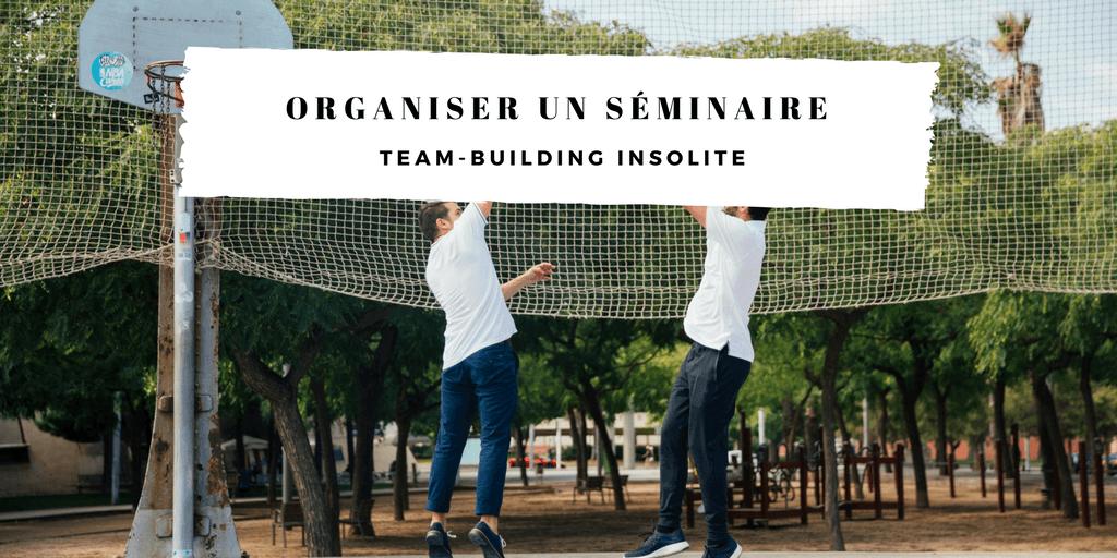 team-building insolite