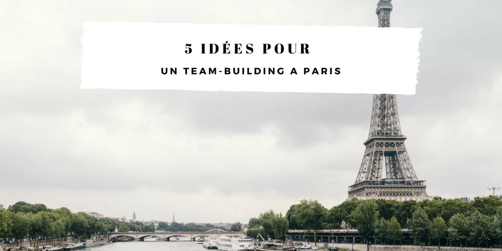 team building à Paris