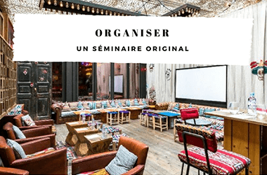 Organiser un séminaire original