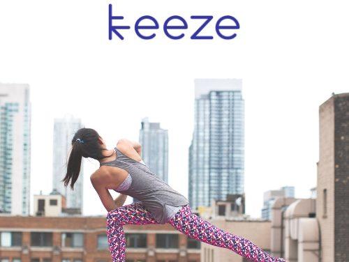Keeze offre 1h de YOGA pour vos événements d'entreprise
