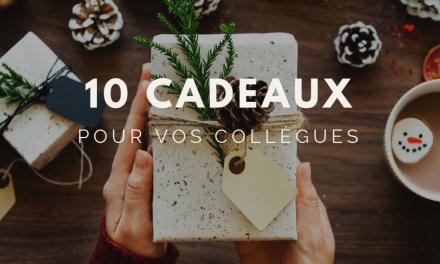 10 idées de cadeaux de noël pour vos collègues
