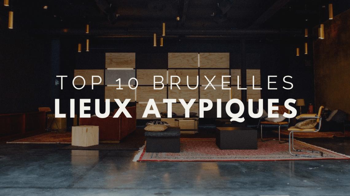 TOP 10 espaces atypiques à Bruxelles