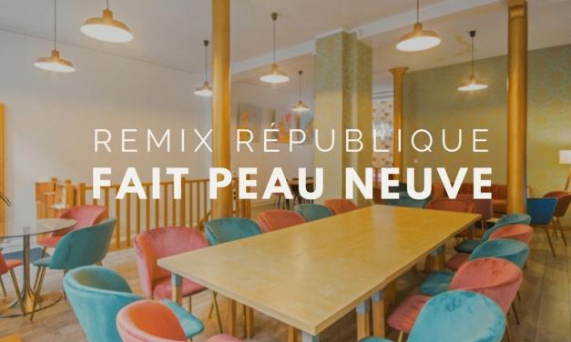Espace atypique : le Remix République fait peau neuve