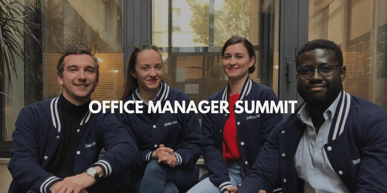 Office Manager Summit : Une deuxième participation pour Bird Office