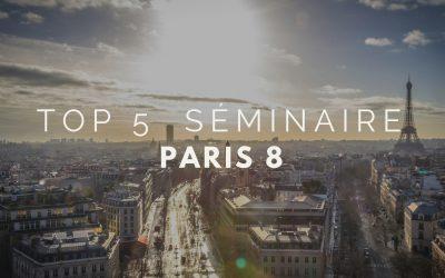 Top 5 des lieux de séminaire à Paris 8