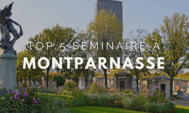 Top lieux de séminaire à Paris Montparnasse