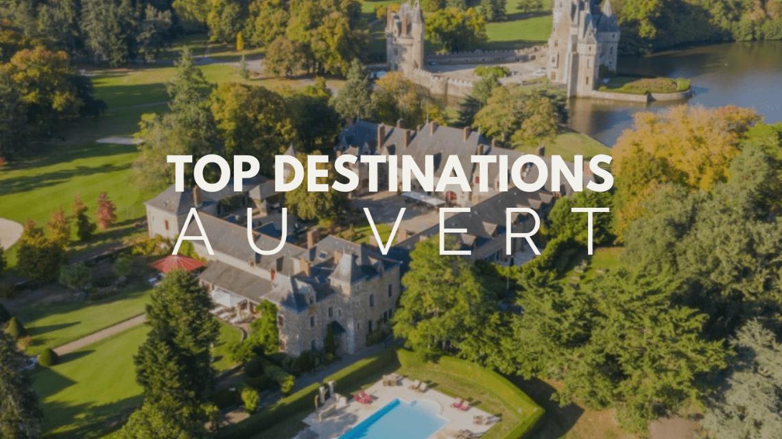 Les meilleures destinations pour un séminaire au vert