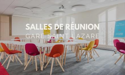 Des salles de réunion au coeur de la Gare Saint-Lazare