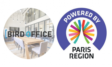 Bird Office obtient le label Powered by Paris Region
