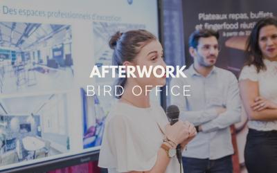L'afterwork Bird Office: Le premier événement des professionnels de l'événementiel