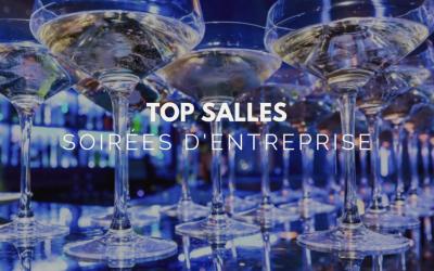 Top salles : soirées d'entreprise