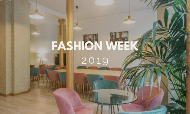 Fashion Week : Votre événement professionnel dans un showroom