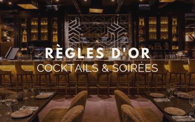 Cocktail et soirée d'entreprise les règles d'or à suivre