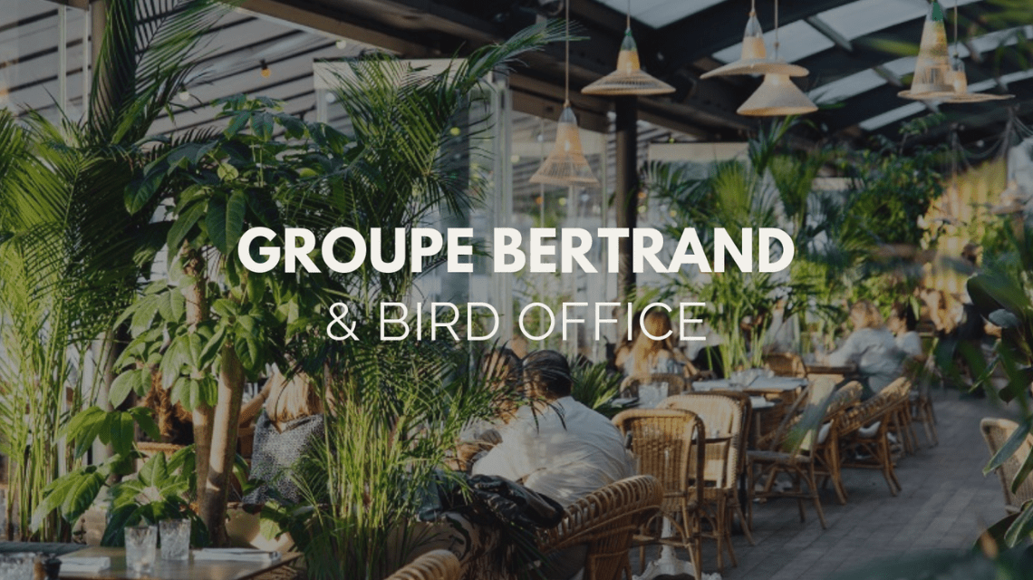 Bird Office & Groupe Bertrand : un partenariat réussi !