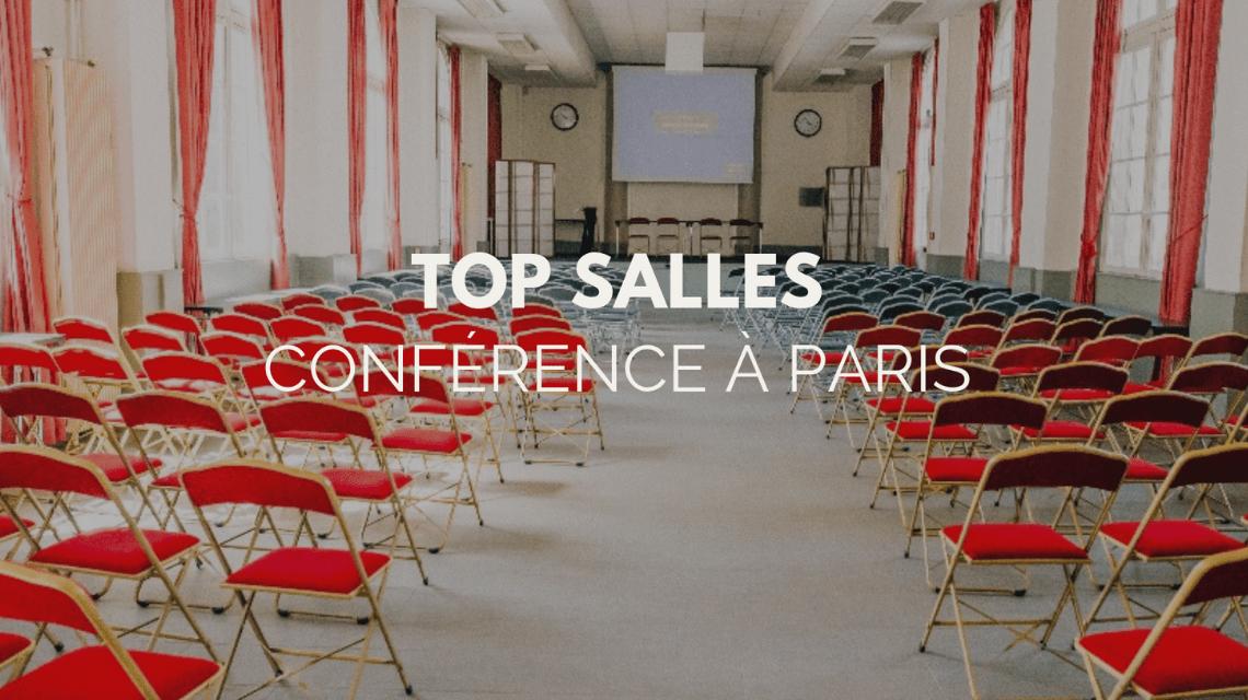 Top salles : conférence à Paris