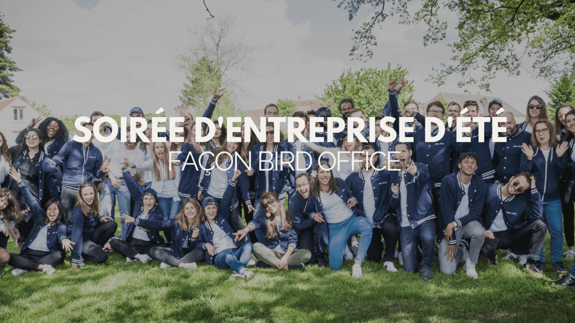 Soirée d'entreprise d'été façon Bird Office