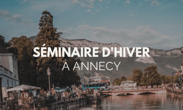 Séminaire à Annecy : la meilleure destination pour un séminaire d'Hiver?