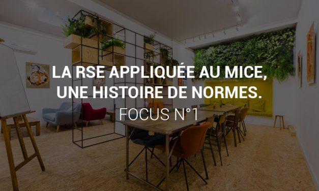 La RSE appliquée au MICE, une histoire de normes – Focus n°1
