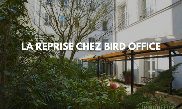 La reprise chez Bird Office