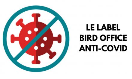 Label Bird Office Anti-Covid
