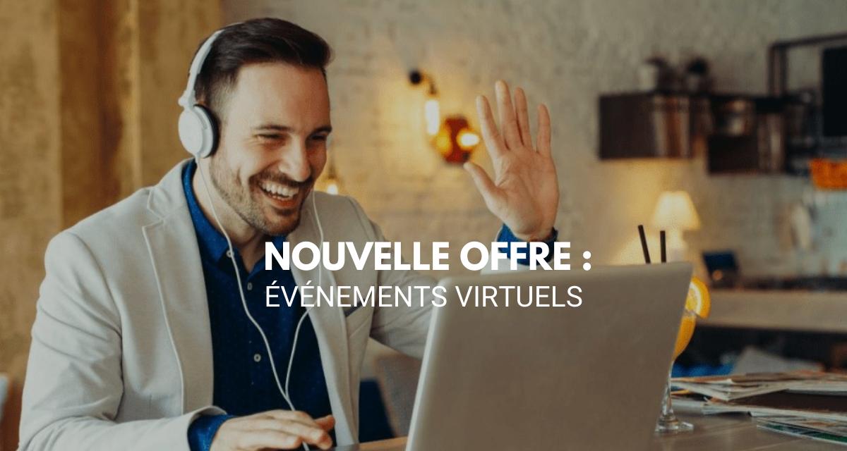Bird Office lance une nouvelle offre : les événements virtuels