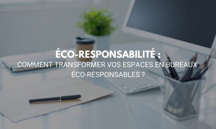 Comment transformer vos espaces en bureaux éco-responsables ?