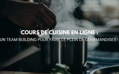 Cours de cuisine en ligne : un team building pour faire le plein de gourmandises 🧑🍳