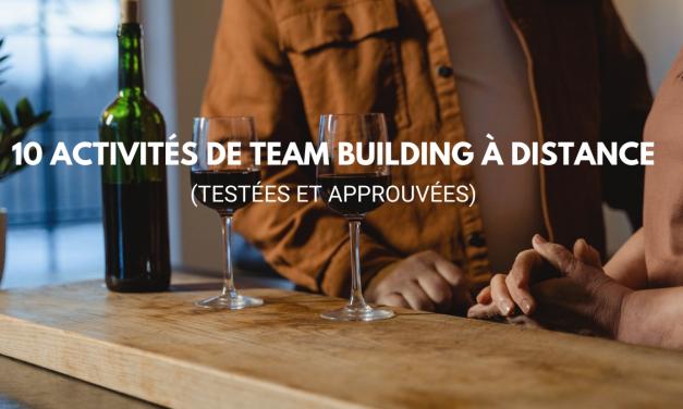 10 activités de team building à distance (testées et approuvées)
